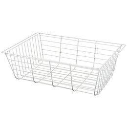 Form Twinslot White Storage Basket (W)38.2cm (L)58.6 cm