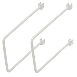 Form Twinslot White Flexible Support Kit (W)18mm (L)200