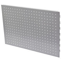 Form Twinslot Aluminium Storage Peg Board (H)400mm (W)590mm