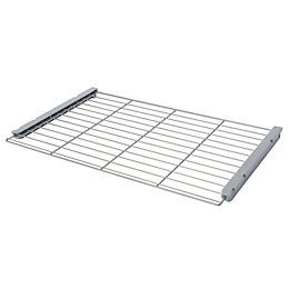 Silver Gloss Wire Shelf (L)580mm (D)380mm