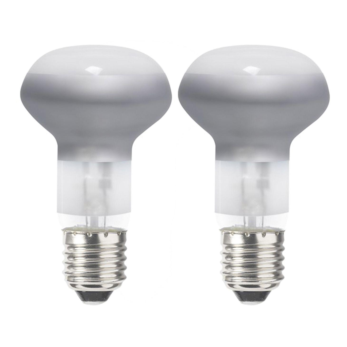 Sylvania E W Halogen Dimmable Reflector Spot Light Bulb Pack