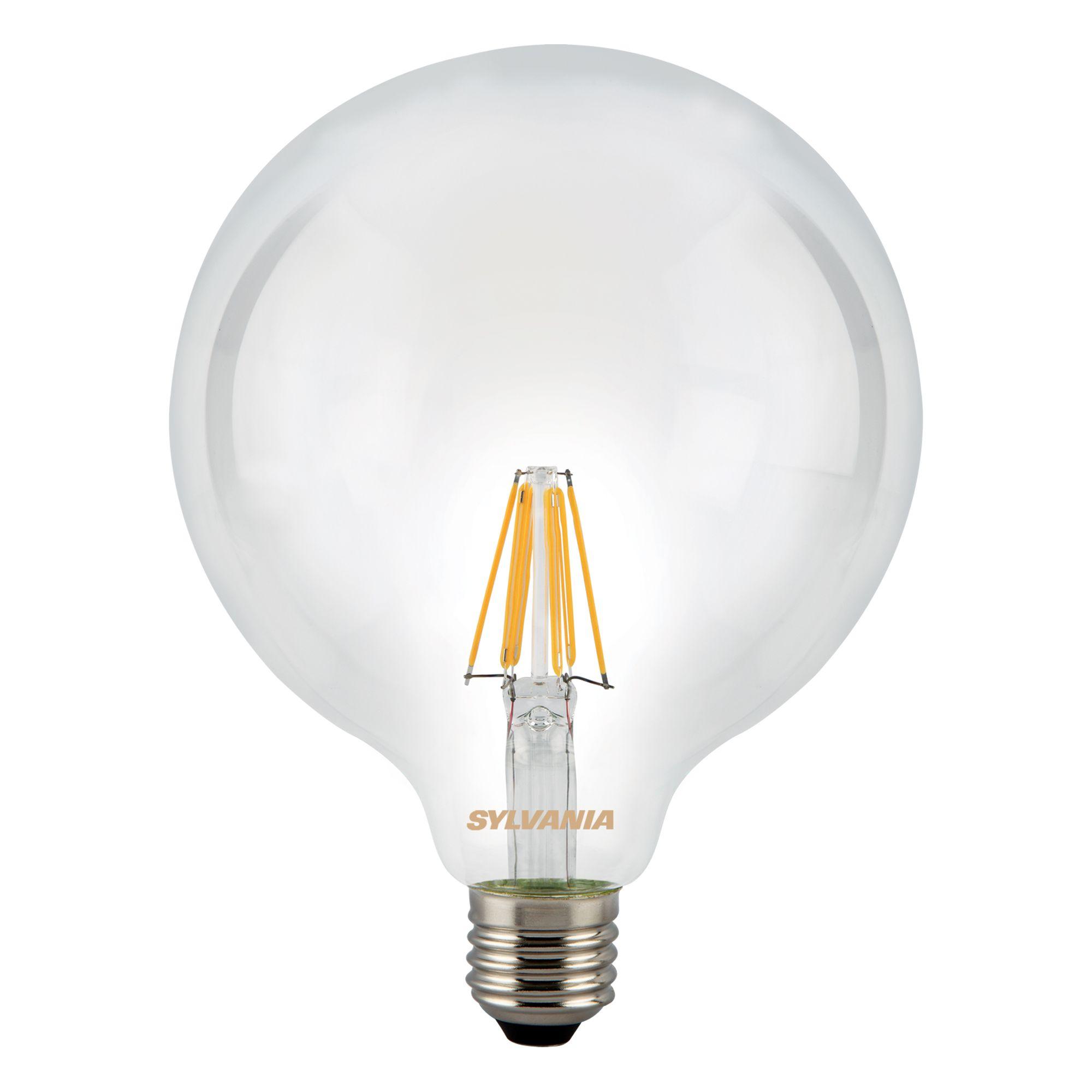 diall edison screw cap e27 28w halogen round light bulb. Black Bedroom Furniture Sets. Home Design Ideas