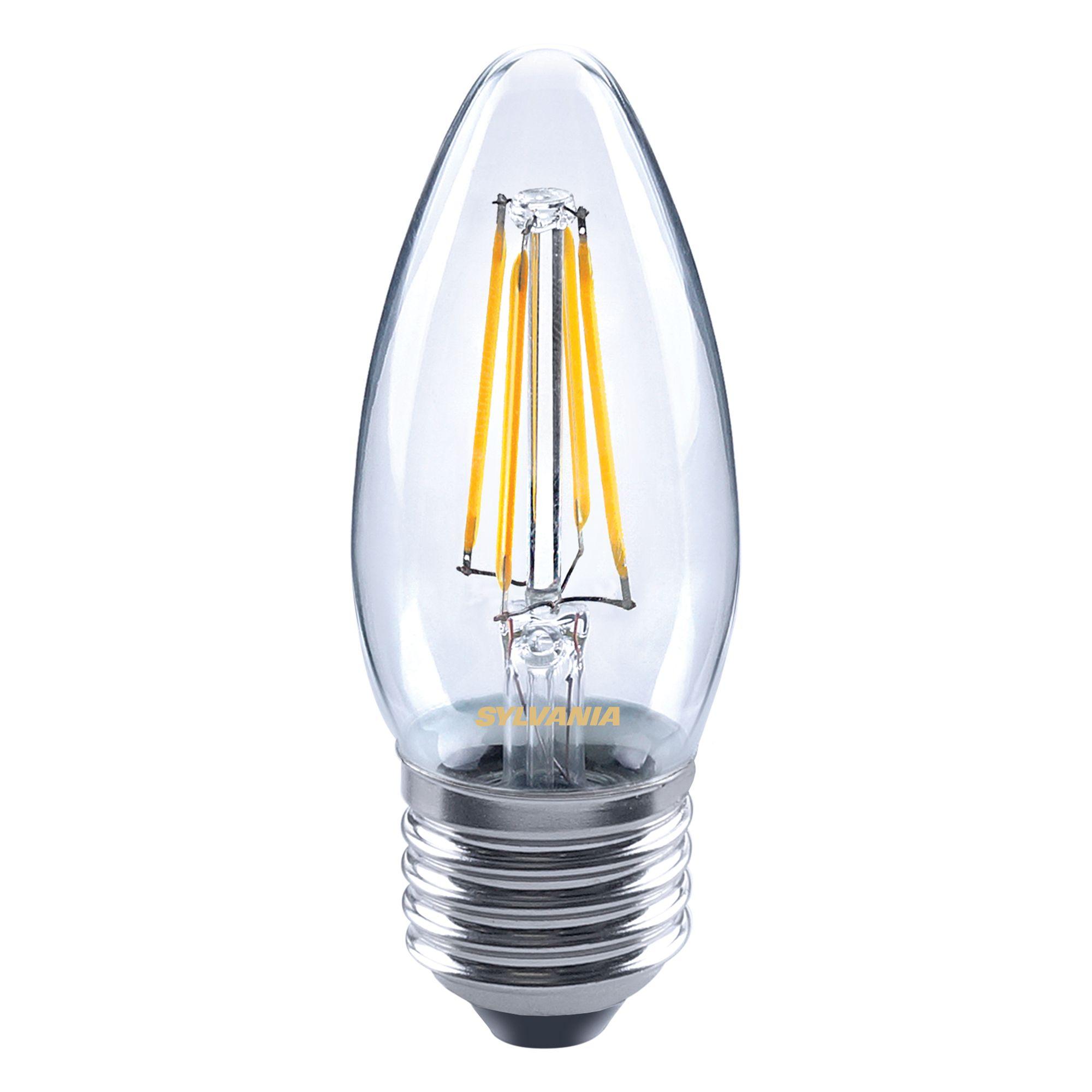 diall edison screw cap e27 5w led filament gls light. Black Bedroom Furniture Sets. Home Design Ideas
