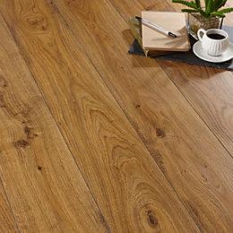 Andante Oak Effect Laminate Flooring 1.72 m² Pack