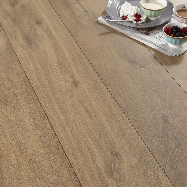 Natural Oak Effect Laminate Flooring Part - 27: Calando Mid Natural Oak Effect Laminate Flooring 1.59 M² Pack | Departments  | DIY At Bu0026Q