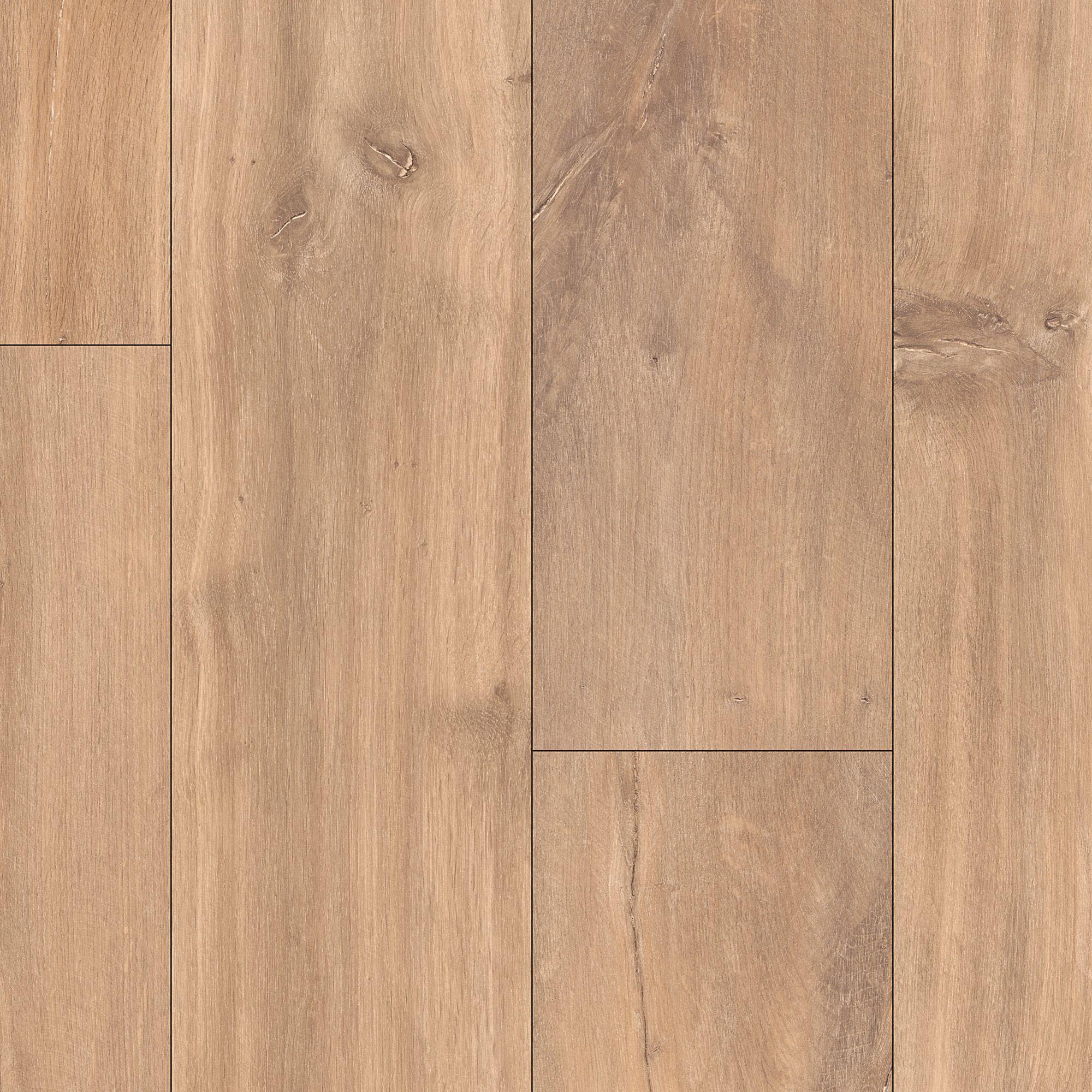 Calando mid natural oak effect laminate flooring sample for B q laminate flooring