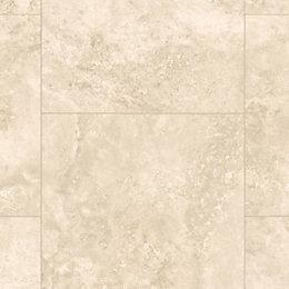 Tila Travertine Tile Effect Laminate Flooring Sample