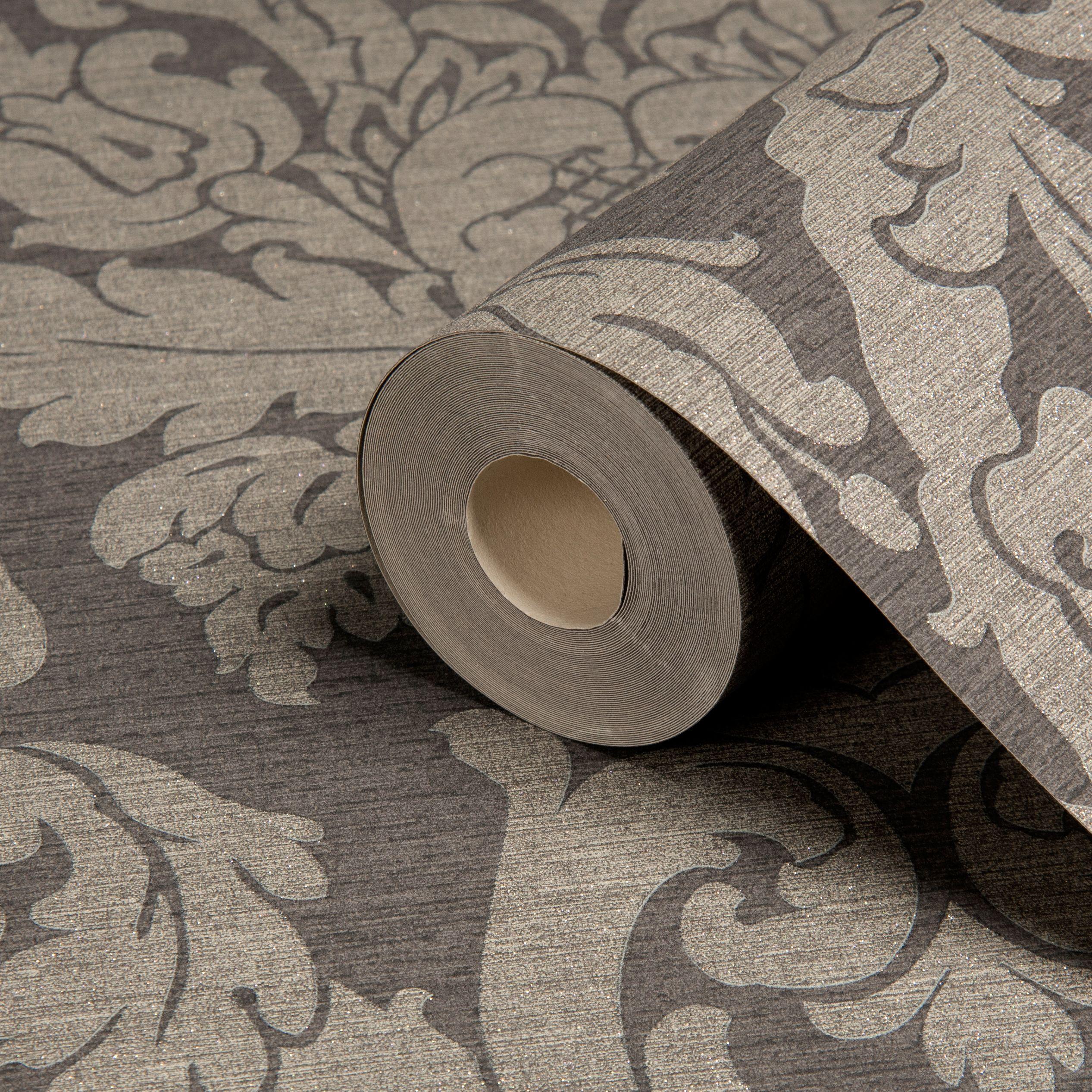 Silver Metallic Wallpaper Bedroom Charcoal Bedroom Wallpaper Diy