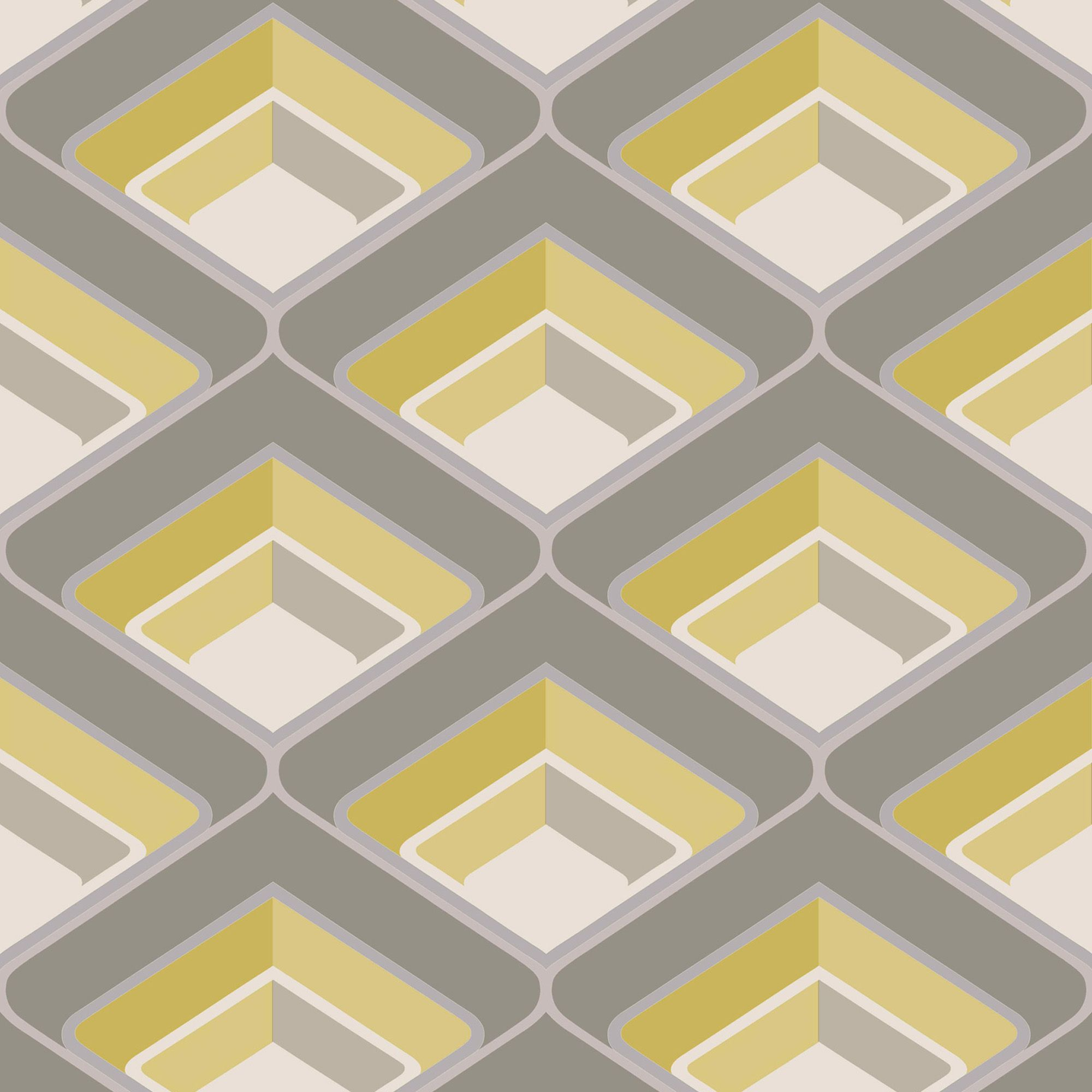 Gold Geo Geometric Glitter Highlight Wallpaper