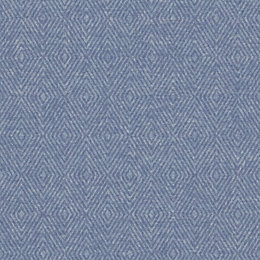 Gold Phuket Blue Ethnic Textured Wallpaper