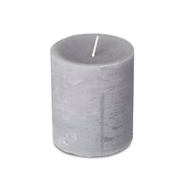 Spaas Rustic Winter Magic Pillar Candle Small