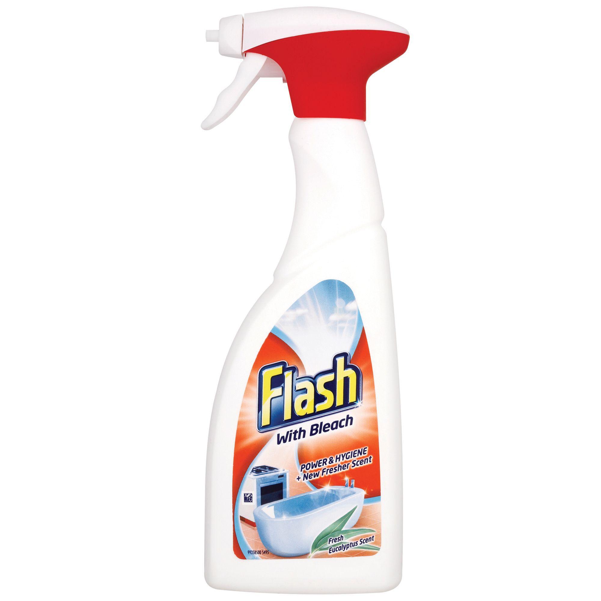 Flashguard Bleach Spray Bottle 500 Ml Departments Diy