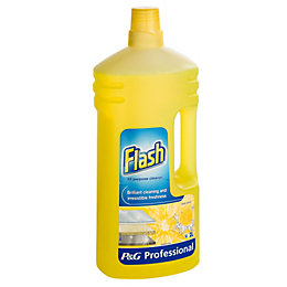 Flash Liquid Lemon Cleaner Bottle, 500 ml