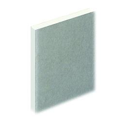 Knauf Square Edge Plasterboard (L)1200mm (W)2400mm (T)12.5mm