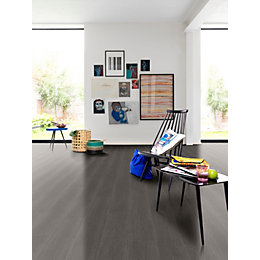 Dark Grey Toulon Oak Matt Waterproof Luxury Vinyl