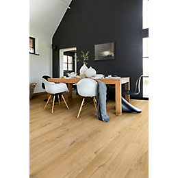 Aquanto Oak Natural Matt Laminate Flooring 1.835 m²