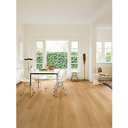 Aquanto Natural Varnished Oak Matt Laminate Flooring 1.835