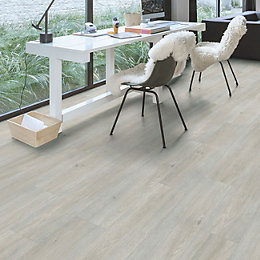 Paso Light Grey Oak Effect Waterproof Luxury Vinyl