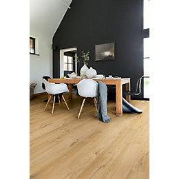 Aquanto Oak Natural Matt Laminate Flooring Sample