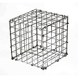 Galvanised Steel Mesh Gabion (H)300mm (W)300mm