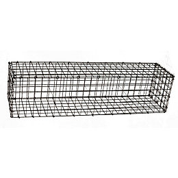 Galvanised Steel Mesh Gabion (H)300mm (W)1200mm