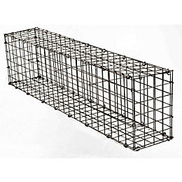 Galvanised Steel Mesh Gabion (H)200mm (W)1200mm