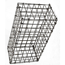 Galvanised Steel Mesh Gabion (H)200mm (W)600mm