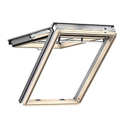 Pine Top Hung Roof Window (H)980mm (W)550mm