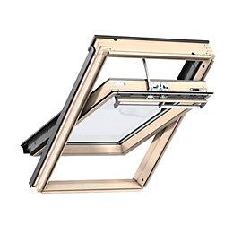 Pine Centre Pivot Roof Window (H)980mm (W)780mm