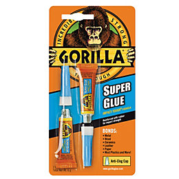 Gorilla Super Glue 3G, Pack of 2