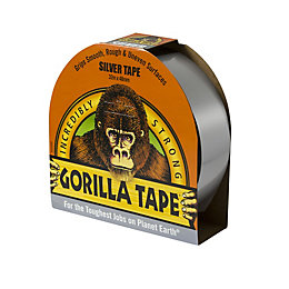 Gorilla Silver Tape (L)32M (W)50mm