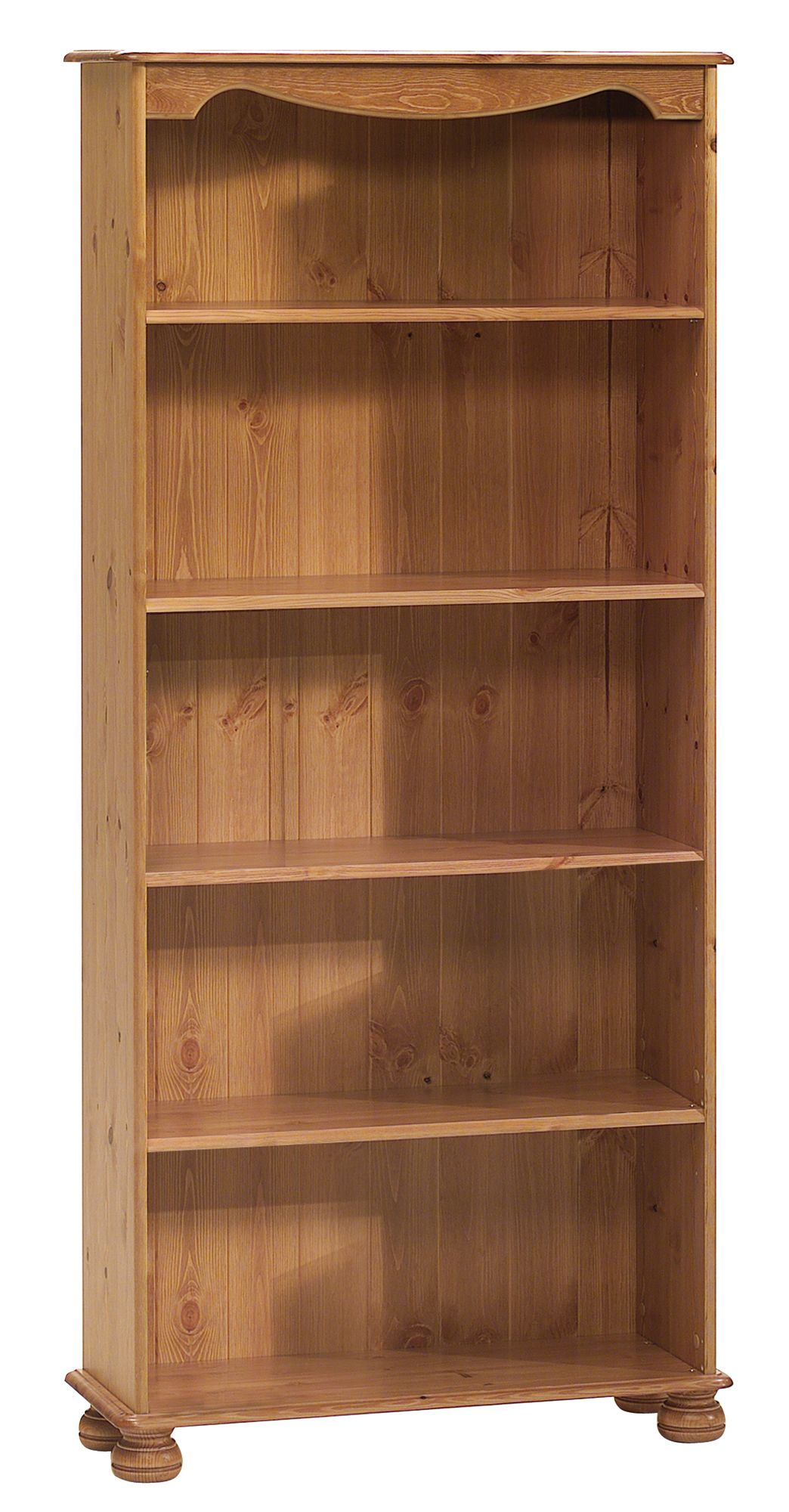 Malmo Antique Effect Bookcase H 1661mm W 767mm D 270mm Departments Diy At B Q
