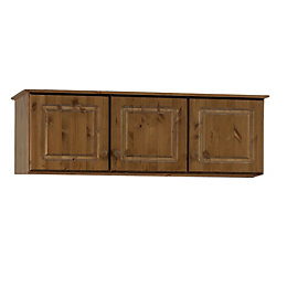 Malmo Malmo Stained Pine 3 Door Top Box