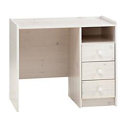 White Wash Desk (H)740 mm (W)890 mm