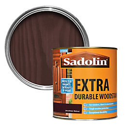 Sadolin Extra Durable Jacobean Walnut Woodstain 1L