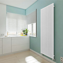 Terma Winchester Vertical Radiator Soft White Matt, (H)1800