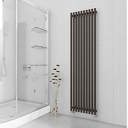 Terma Tune Vertical Radiator Noble Brown Textured (H)1800