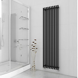 Terma Tune Vertical Radiator Metallic Black Textured, (H)1800