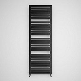 Terma Salisbury Metallic Black Towel Radiator (H)1635 (W)540
