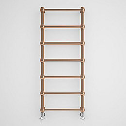 Terma Retro Galvanic Old Copper Towel Radiator (H)1170mm