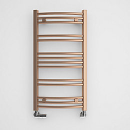 Terma Jade Galvanic Old Copper Towel Radiator (H)753mm