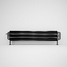 Terma Ribbon Horizontal Radiator Metallic Black Metallic