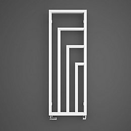 Terma Harley Vertical Radiator Soft White Powder Coated