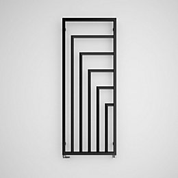 Terma Harley Vertical Radiator Heban Powder Coated Textured