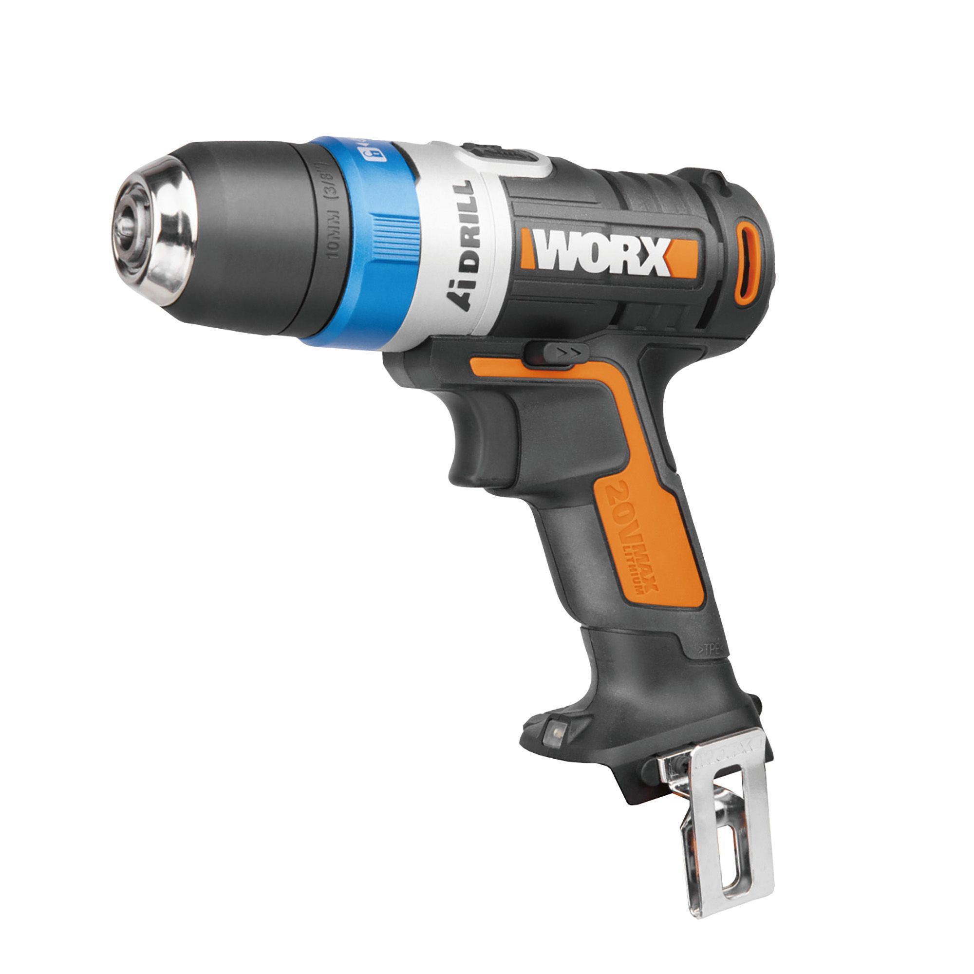 worx powershare cordless 20v drill without batteries wx178. Black Bedroom Furniture Sets. Home Design Ideas