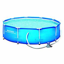 Bestway Round Plastic Pool L3.05 x W3.05 x