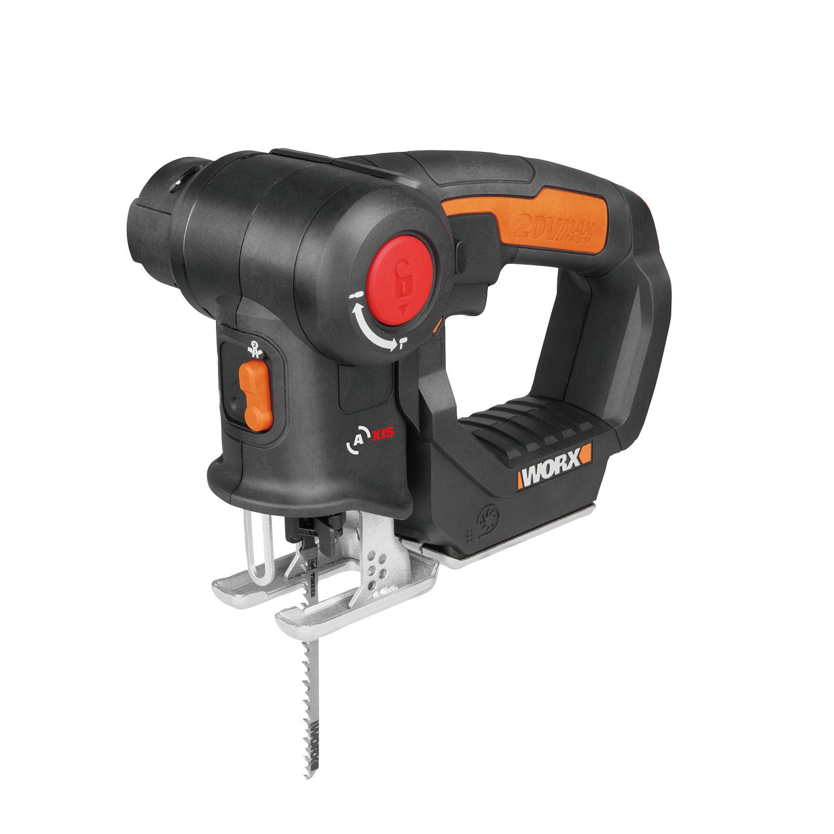 worx powershare 20v cordless multi purpose saw wx550 9 bare departments tradepoint. Black Bedroom Furniture Sets. Home Design Ideas