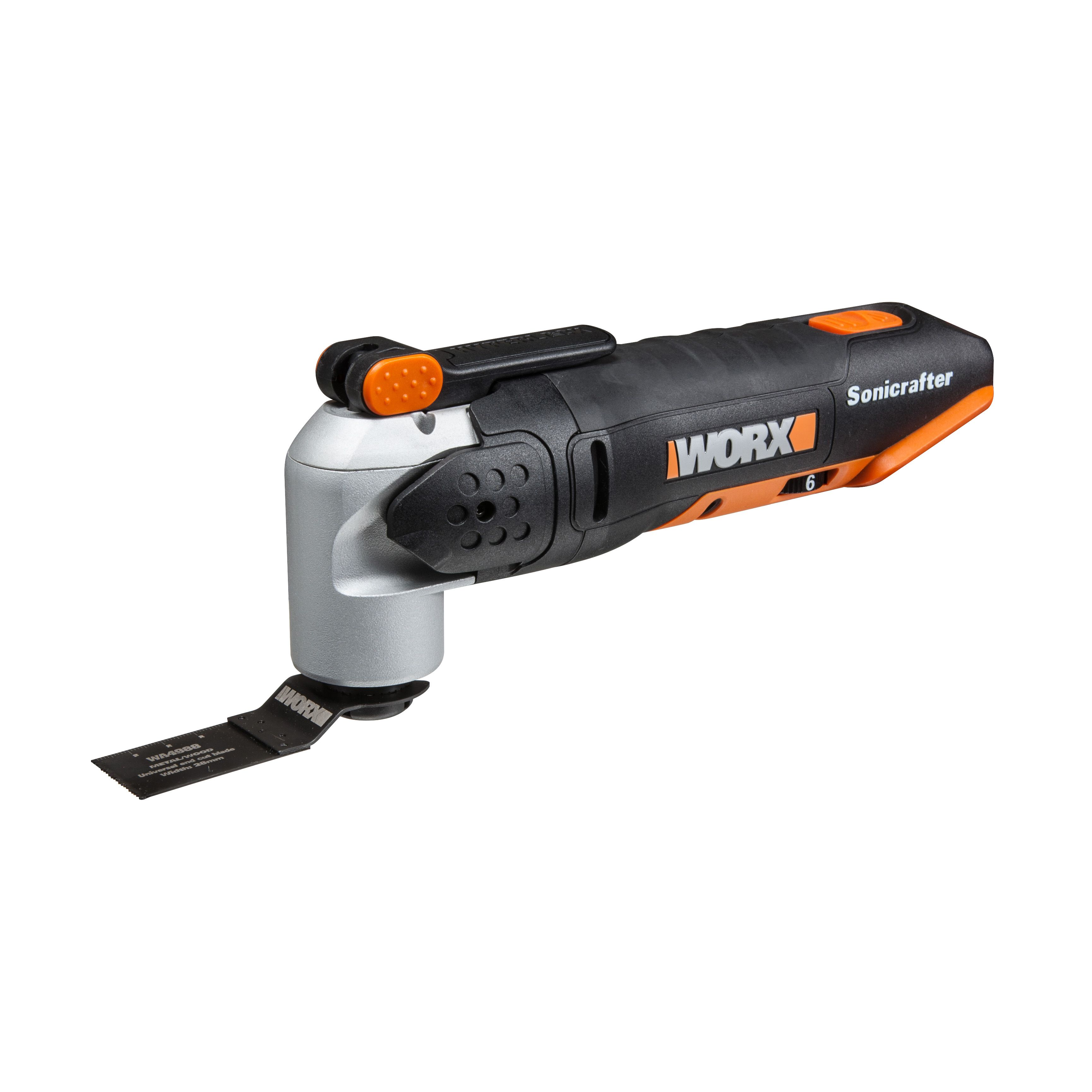 worx powershare 20v cordless sonicrafter multi tool wx678 9 bare departments tradepoint. Black Bedroom Furniture Sets. Home Design Ideas
