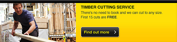 Try our free timber cutting service