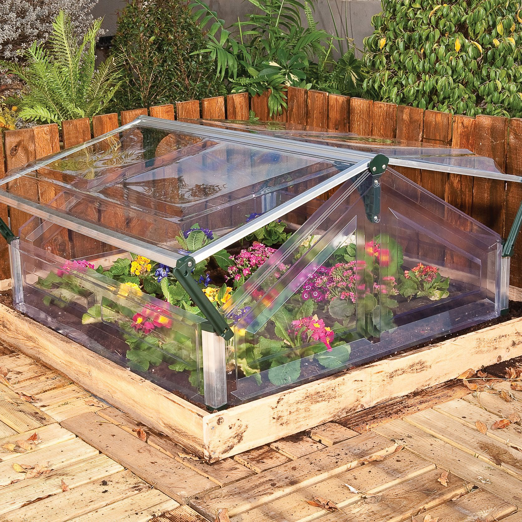 Palram Plastic Cold Frame Departments Diy At B Amp Q
